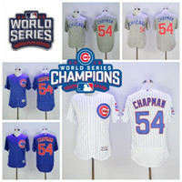 2016 World Series Champions Patch Chicago Cubs 54 Aroldis Ch...