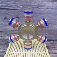 Spinner jouet EDC jouet Fidget Spinner fidget spinner titane 2017 Roulement de précision 608 606 Si3N4 Finger Stress Reducer