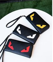 2017 New Arrivals Hot Selling PU Leather Monster Heart Eyes ...