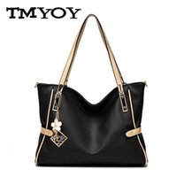 Wholesale- TMYOY Brand PU Women Leather Bag Top- Handle Handb...