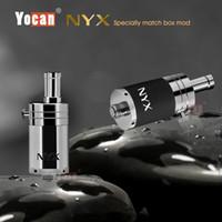 100% Original Yocan NYX atomiseurs de vapeur Vaporisateur de cire à herbes séchées Quartz double bobine Bas contrôle de débit d'air k1 Cloupor Cloutank M4
