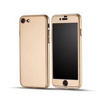 Nouvelle couverture arrière protectrice de 360 degrés pour iPhone 6 étuis complets pour iPhone 6S plus étui pour téléphone iphone 7