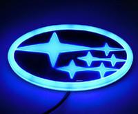 Subaru Outback Legacy 4D led car logo badge for Forester XV ...
