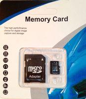128GB 256GB 64GB Micro SD TF карта памяти Class 10 SD адаптер 20GB SDXC Высокая скорость для камер GoPro Dash Смартфоны Таблетки TF-слот устройства