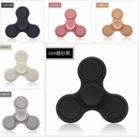 2017 Nouveau ABS Fidget Spinner Dull Polish Hand Spinner Gyro EDC Toy Anomalie de décomposition portable Le plus bon fidget Spinner Toys DHL