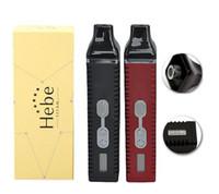 Titan 2 HEBE Vaporisateur Kit Avec 2200mah Batterie Affichage Lcd Égine sèche Vaporisateurs e cigs vapeur à base de plantes Titan1 E Cigs Vape