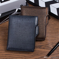 Hot Selling Fashion Men Wallets Short Card Holder Wallets Ch...