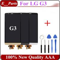 1Pcs Remplacement d'origine pour LG G3 LCD D850 D851 D855 VS985 LS990 Affichage LCD Touch Digitizer écran d'assemblage avec des outils ouverts