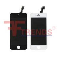 Pour iPhone 5C 6 6S 6S Plus écran LCD écran tactile avec cadre Livraison gratuite Noir Blanc Haute qualité
