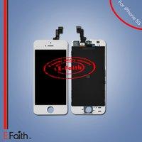 Écran tactile d'affichage à cristaux liquides d'écran tactile de l'iPhone 5s de qualité supérieure