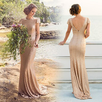 2016 Sexy Backless Mermaid Evening Dresses High Quality Cham...