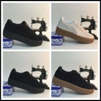 Drop Ship Fenty Suede Creeper Green Black White BY rihanna X Fenty TAILLE EUR 36-44
