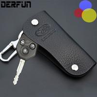 Leather Subaru 3 button Key Case Cover for Impreza Outback X...