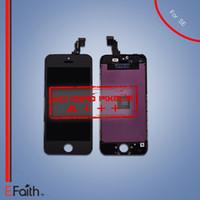 Pour iPhone SE Écran LCD noir 5S fonctionne bien sur SE Screen Digitizer Replacement Livraison gratuite