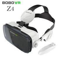 BOBOVR Z4 Lunettes 3D de réalité virtuelle VR BOX Casque Immersif Carton Bobo VR Z4 VR Box + Bluetooth Compad