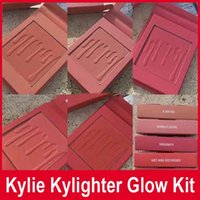 New Kylie Kylighter glow kit Bronzers & Highlighters 5 color...