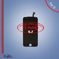 IPhone 6 Grade A +++ Écran LCD noir avec numériseur à écran tactile complet pour 4,7 pouces