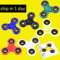 EDC Hand Spinner Fidget Spinner Toy Bon choix pour l'anxiété de décompression Jouets de doigts Killing Time Free DHL oth348
