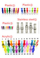 Great variety ce4 drip tip stainless steel drip tip colorful...