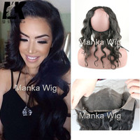 Pre Plucked 360 Lace Frontal Closure Brazilian Virgin Hair B...