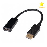 DisplayPort DP to HDMI Video Cable Male to Female Connector ...
