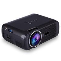 BL-80 1080P HD mini projecteur portatif de cinéma maison de cinéma de LED 3D AV / USB / SD / VGA / HDMI 1920x1080 projecteurs d'affichage à cristaux liquides