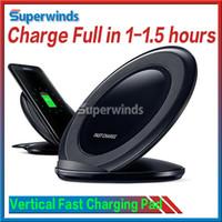 Vertical sans fil Fast Chargeur Qi Chargeur EP-NG930 Avec Logo dans le matériel d'origine avec ventilateur opitonal