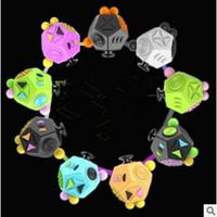 La Segunda Generación Fidget Cube La primera ansiedad americana de descompresión del mundo Juega 12 superficies Adultos Cubo CCA5459 20pcs