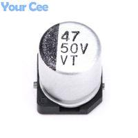 Wholesale- 50 pcs 50V 47UF SMD Aluminum Electrolytic Capacito...