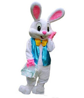 2017 Sell Like Hot Professional Easter Bunny Mascot Costumes...