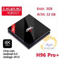 H96 Pro+ : 2  3G DDR3 option 16  32G Flash 2. 4G 5GHz Wifi HD2...