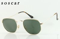 soscar New Sunglasses 3548 Brand Designer Sunglasses Retro S...