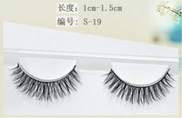 100% Handmade Real Mink Fur False Eyelash 3D Strip Mink Lash...