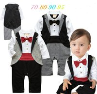 Baby Boys Bodysuits Rompers Jumpsuits Infant Toddlers Gentle...