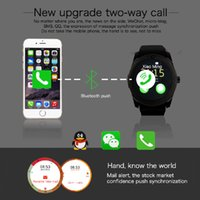 Smartwatch V8S Android 1.22inch IPS Smart Montre Smart Watch pour Android 4.4 Cell Phone Intelligent dispositifs portables intelligents
