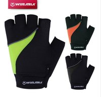 Winmax Short Fitness Reflective Cycling Gloves Half Finger C...
