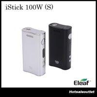 Authentique Eleaf iStick 100w Boîte Mod iStick 100W VV Mod VW 100 Watt Single Battery 100% Original DHL Gratuit
