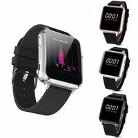 Stocks américains! M88 Bluetooth4.0 Smart Watch GSM quadri-bande tactile d'écran tactile MTK2502 IOS Android Livraison gratuite