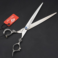 9. 0 inch Professional Pet Dog Grooming Scissors Purple Drago...