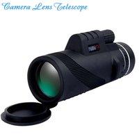 Télescope d'objectif de caméra Agrandir 40x60 Télescope d'objectif de caméra Monoculaire DHL pour iPhone7 Samsung Galaxy S7 Edge
