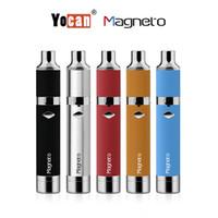 Аутентичные ручные наборы Yocan Magneto для пера Магнито керамические катушки Наборы для сигарет Yocan E с подключением магнита Инструмент для подзарядки 1100mAh аккумулятора