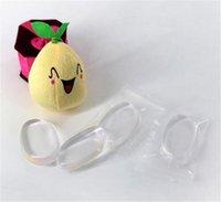 Sponge Blender Powder 6 color Smooth Puff Fundación Flawless Beauty Funda de látex Silicona transparente transparente silicona transparente Spon