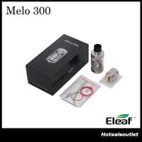 Authentique Eleaf MELO 300 Sub Ohm Tank Melo 3 Atomiseur -A avec 6,5 ml de capacité Melo 3 Atomiseur-B avec 3,5 ml ES Sextuple-0.17 ohm tête