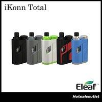 Authentique Eleaf iKonn Total avec 2ml ELLO Mini / 5.5ml Mini XL Kit complet Alimentation par simple 18650 Batterie