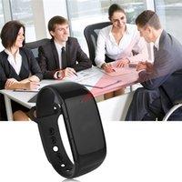 1080P Bracelet en caoutchouc montre intelligente avec caméra cachée Mini enregistreur vidéo DVR Cam