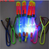Blue Light Large 21cm 4 Colors LED Light Slingshot Elastic A...