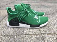 NMD Human Race Truth Boost laces Can Reflect light Green Whi...