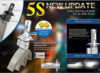 2 Pcs 5S 72W H4 H13 Hi- Lo Beam H7 9005 9006 Single Beam LED ...
