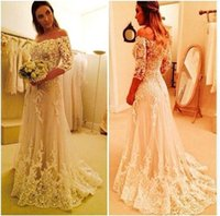 2017 Vintage Lace Off the Shoulder Elegant Vestido De Novia ...