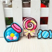 Lollipop Small Candy Patches Cartoon Can Ironing Applique 3p...